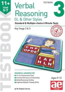 Verbal Reasoning  Standard and Multiple - Choice