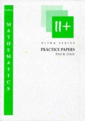 11+ Mathematics : Pack 1 by Peter Firth