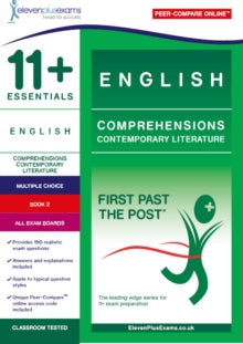 11+ English Comprehensions: Contemporary Literature Book 2
