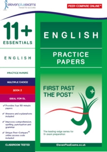11+ Essentials English Practice Papers Book 2