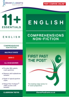 11+ Essentials English Comprehensions: Non-Fiction Book 2
