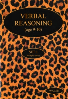 Verbal Reasoning : Verbal Reasoning Age 9-10 Set 1 by Mary Walsh, Barbara Walsh