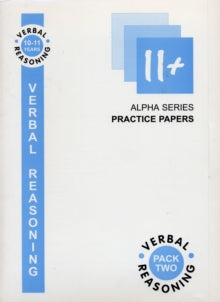 11+ Verbal Reasoning : Set 2 by Elizabeth S. Bell