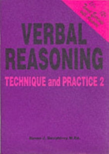 Verbal Reasoning : Technique and Practice No. 2 by Susan J. Daughtrey