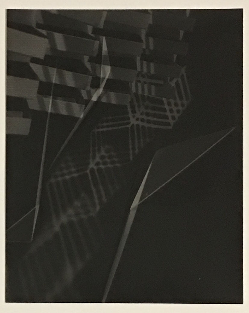 Photogram from contact print 2