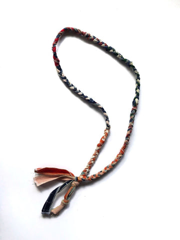 BRAIDED NECKLACE 3