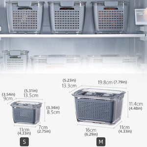 Refrigerator Food Storage Containers With Lids