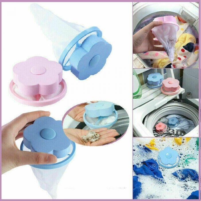 Floating lint hair catcher Reusable filter bag for washing