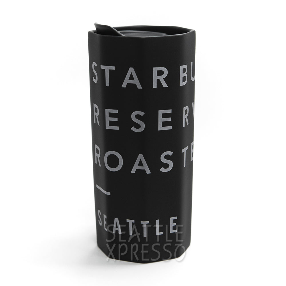 Starbucks Reserve Octagon Double Wall Ceramic Travel Mug