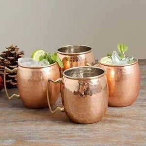 Copper Mug Set of 4
