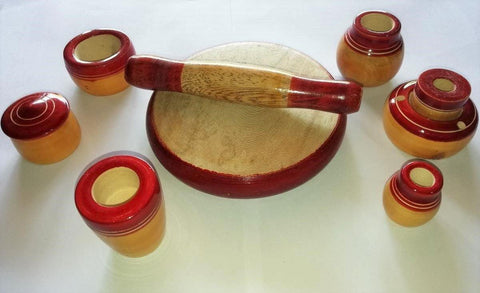 Kids Channapatna Cooking Set -Small