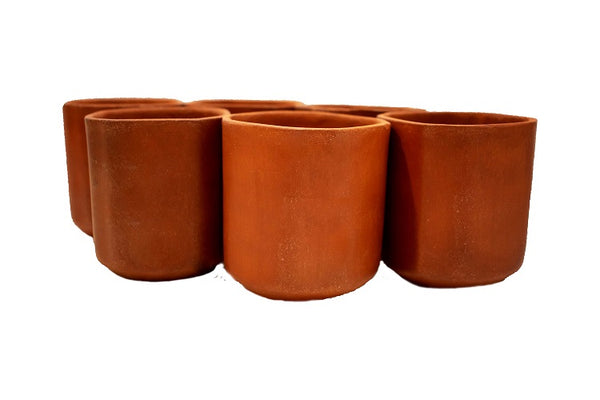 Earthen Square Cups