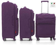 Load image into Gallery viewer, Roncato Venice Soft Side Upright Trolley | Purple