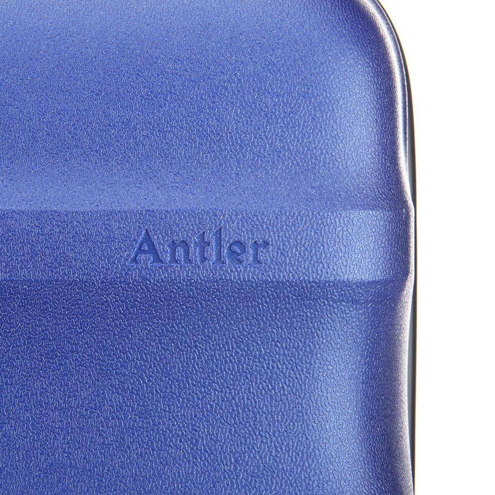 Antler Juno Metallic Suitecase Large in Cobalt Blue