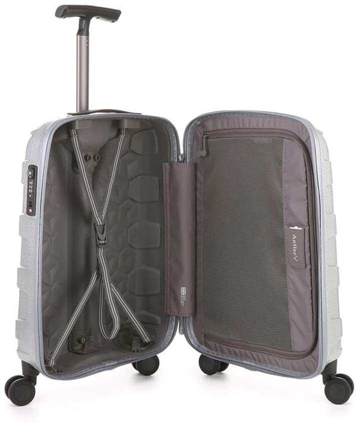 Antler Atom Exclusive Carry On Suitcase Silver