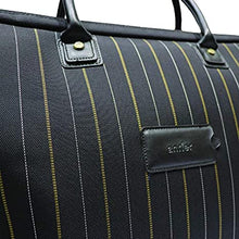 Load image into Gallery viewer, Antler UK New Bond Street Collection Gladstone Duffle Bag Black