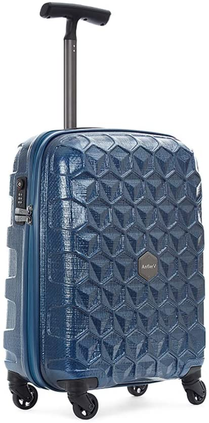 Antler UK Atom Exclusive Collection Suitcase Cabin-Size Blue