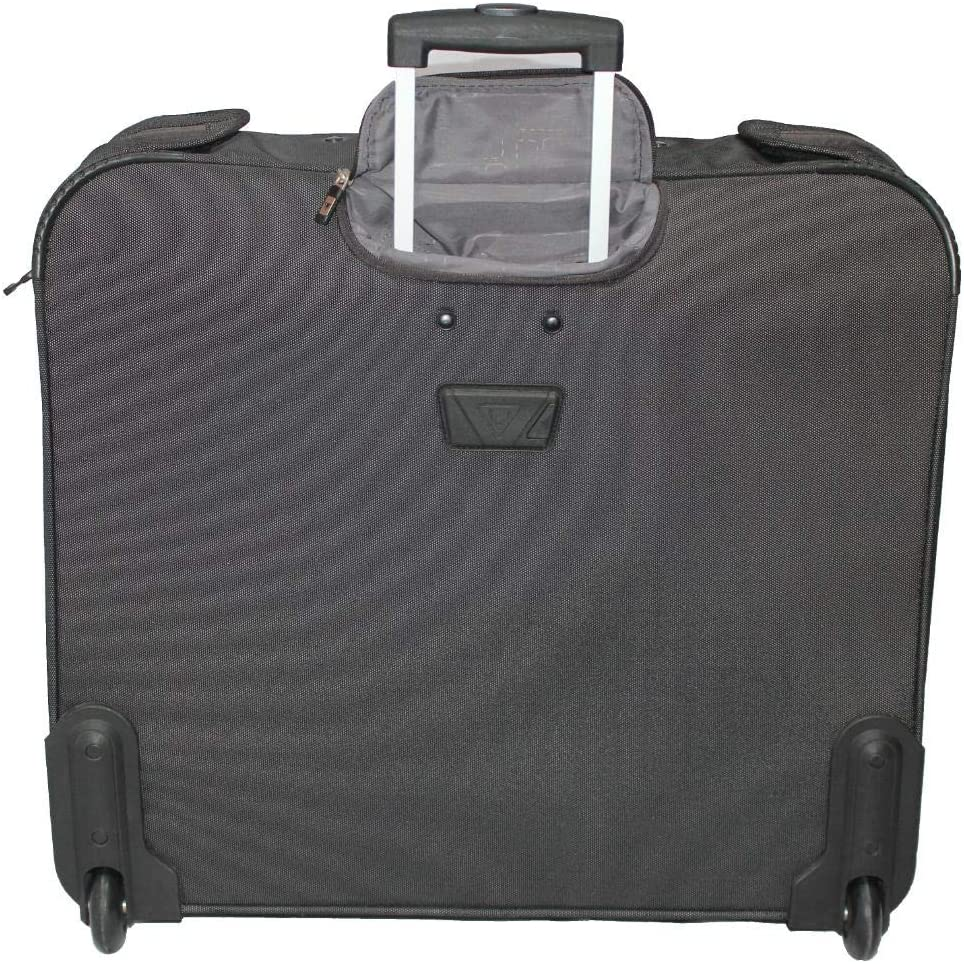 Antler UK lite stream garment trolley bag - black