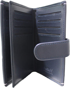 Antler UK Leather Card Holder with Divider