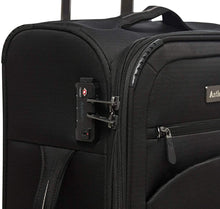 Load image into Gallery viewer, Antler UK Aura DLX Collection Suitcase Large \ Black