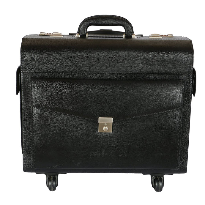 Antler Leather Pilot Trolley AT 2384