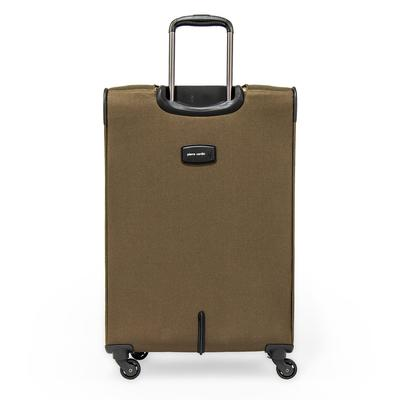 Pierre Cardin Upright Soft Trolley Set of 3 Suitcases
