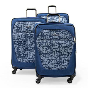 Open image in slideshow, Pierre Cardin Upright Soft Trolley Set of 3 Suitcases