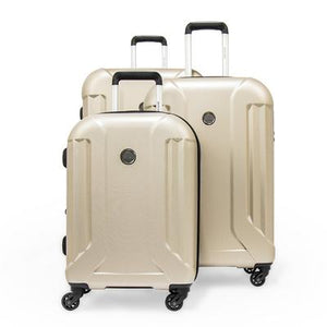 Open image in slideshow, Pierre Cardin Upright Trolley \ Set of 3 Pieces \ Pearl White