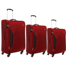 Load image into Gallery viewer, Modo Jet Upright Trolley Set of 3 | Red