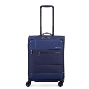 Open image in slideshow, Roncato Sidetrack Cabin Trolley Expandable 55 CM \ Dark Blue