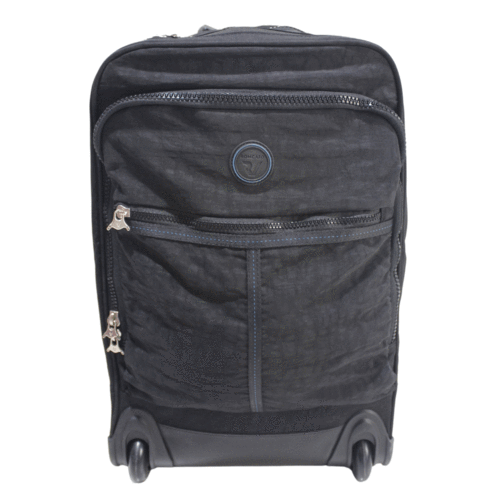 "Roncato Rolling Wheeled Trolley Backpack with 15.6"" Laptop Holder"