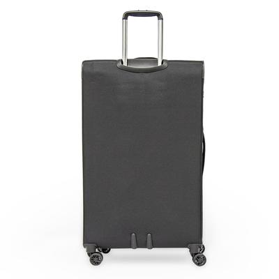 Zero Gravity Soft Case Luggage by Roncato with Beauty Case and PVC Cover \ Black