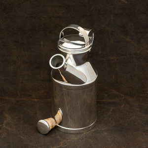 Silver Plated 'Milk Can' Cocktail Shaker