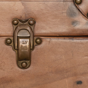 Louis Vuitton Leather Suitcase