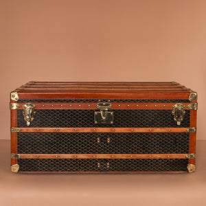 Goyard Steamer Trunk
