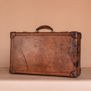 Hermès Leather Suitcase