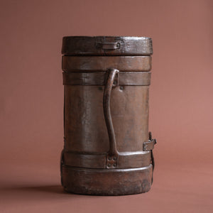 Large Leather Cordite Carrier