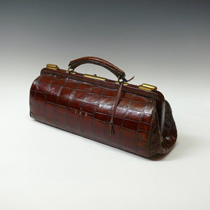 Crocodile Skin Bag