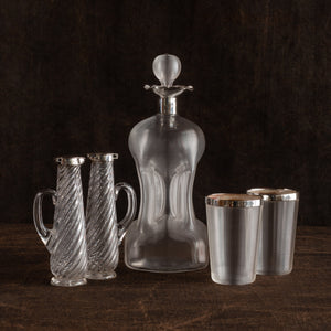 'Striker' Glass Decanter