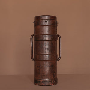 Tall Leather Cordite Carrier