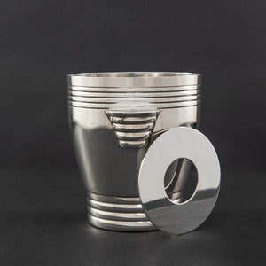 Silver Plate Ice Cube Bucket