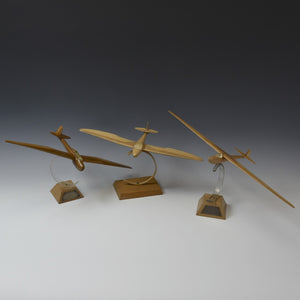 Collection of Three Glider Models