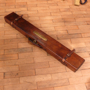 Leather Covered Fishing Rod Case