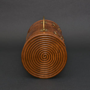 Carved Cylindrical Box