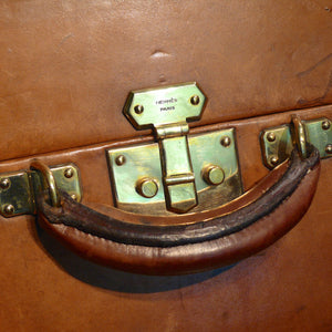 Hermès Large Leather Suitcase