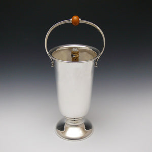 Art Deco Silver Plated Wine Cooler