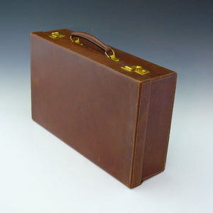 Leather Attaché Case by J.C. Vickery