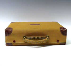 Crocodile Skin Writing Case