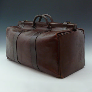 Large Leather Gladstone Bag