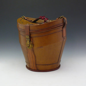 Leather Double Hat Bucket